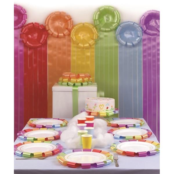Podkład pod tort Ozdoba pod talerz POMARAŃCZOWY