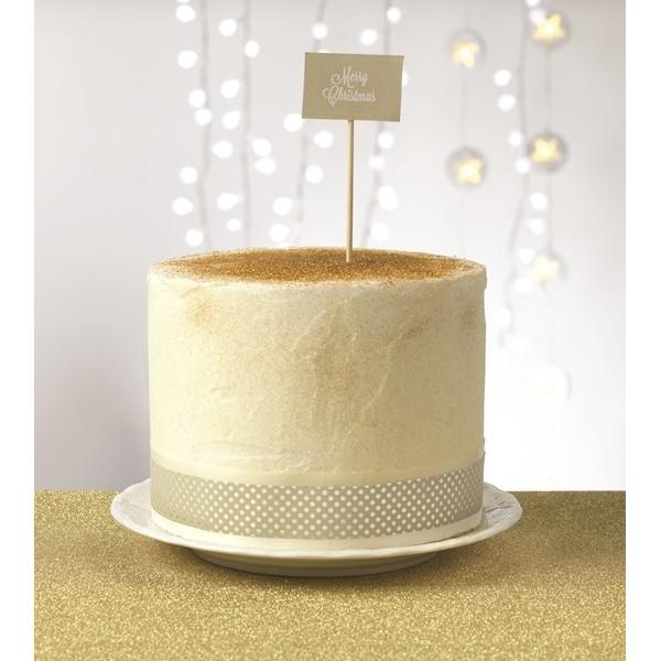Wstążka na tort 20 m ELEGANCKA ECRU