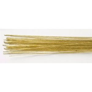 Drut florystyczny złoty, rozmiar 24 - 50 szt.