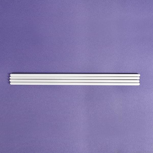 Wsporniki do tortu piętrowego 30 cm, białe - 4 szt.