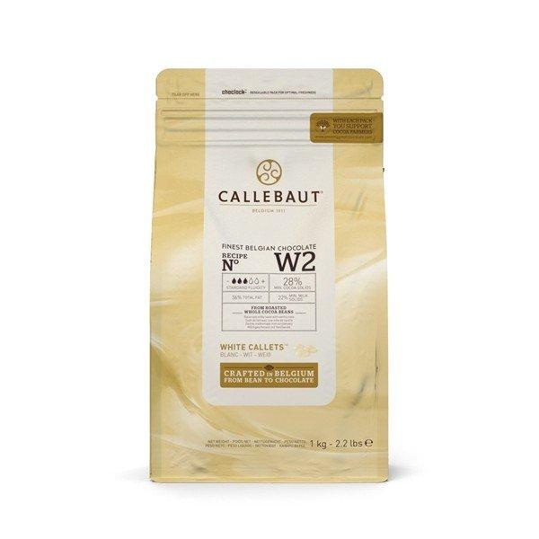 Czekolada biała w pastylkach CALLEBAUT 2,5 kg