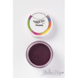 Barwnik spożywczy w proszku Rainbow Dust BURGUNDY- BURGUND
