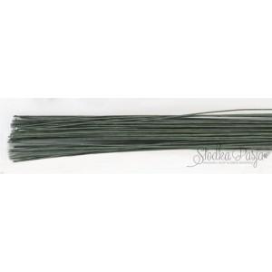 Drut florystyczny rozmiar 18, kolor zielony, 20 szt.