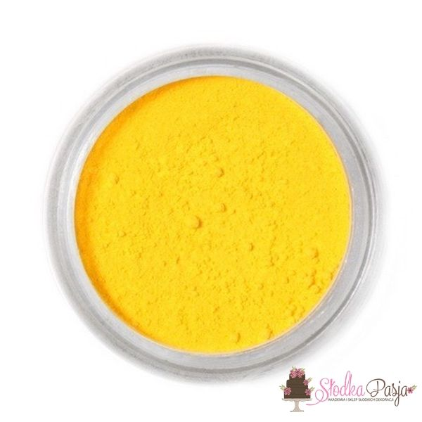 Barwnik spożywczy w proszku Fractal żółty kanarkowy 2,5 g