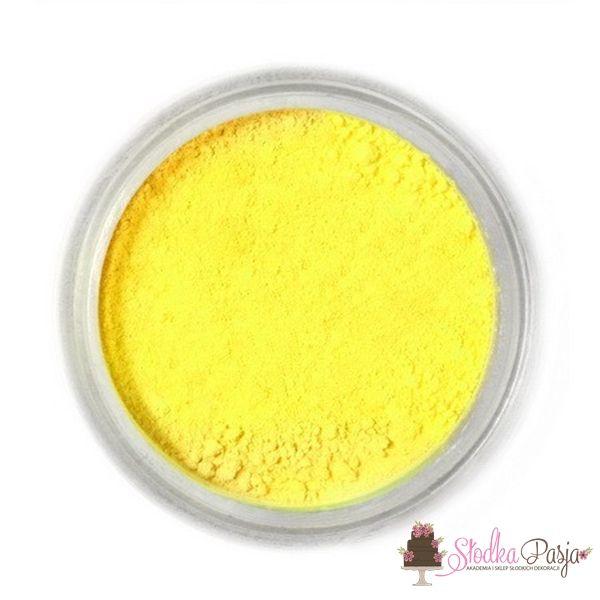 Barwnik spożywczy w proszku Fractal żółty - LEMON YELLOW - 3 g