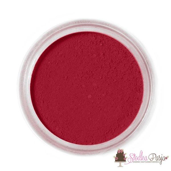 Barwnik spożywczy w proszku Fractal burgund - BURGUNDY - 1,3 g