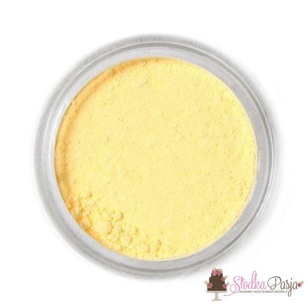 Barwnik spożywczy w proszku Fractal jasny żółty - LIGHT YELLOW - 4 g