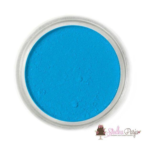 Barwnik spożywczy w proszku Fractal niebieski - ADRIATIC BLUE - 2 g