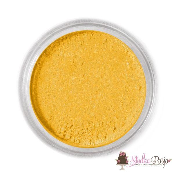 Barwnik spożywczy w proszku Fractal - OCHER - 1,5g