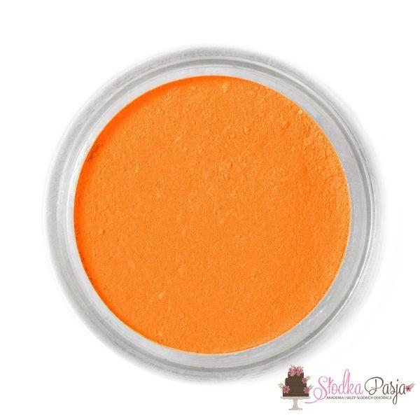 Barwnik spożywczy w proszku Fractal pomarańczowy - MANDARIN - 1,7 g