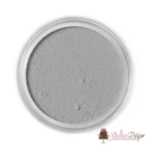 Barwnik spożywczy w proszku Fractal szary - ASHEN GREY - 4 g