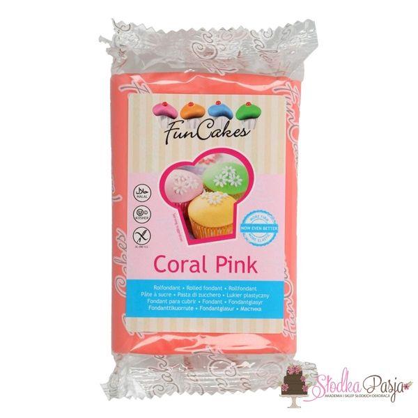 Masa cukrowa Fun Cakes 250 g - Coral Pink
