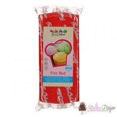 Masa cukrowa Fun Cakes 1 kg - Fire Red