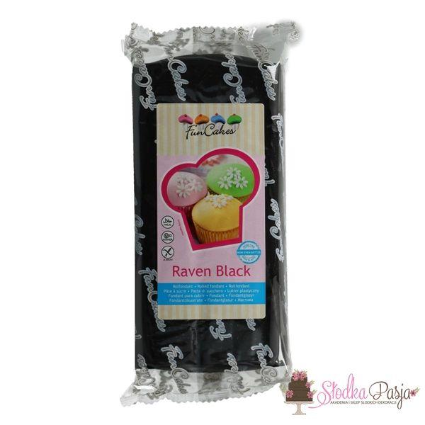 Masa cukrowa Fun Cakes 1 kg - Rawen Black