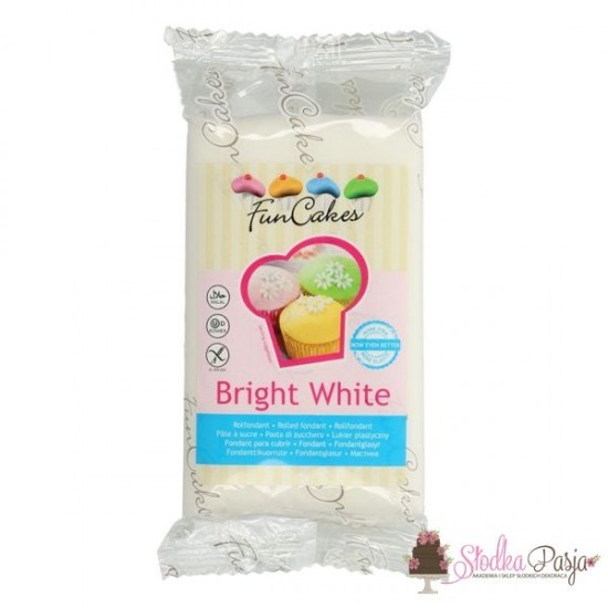 Masa cukrowa Fun Cakes 250 g - Bright White