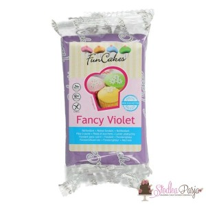 Masa cukrowa Fun Cakes 250 g - Fancy Violet