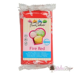 Masa cukrowa Fun Cakes 250 g - Fire Red