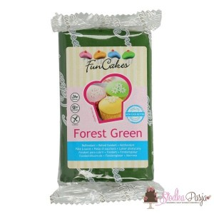 Masa cukrowa Fun Cakes 250 g - Forest Green