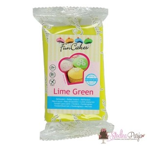 Masa cukrowa Fun Cakes 250 g - Lime Green