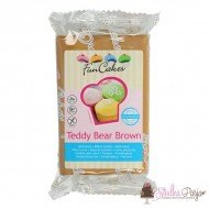 Masa cukrowa Fun Cakes 250 g - Teddy Bear Brown