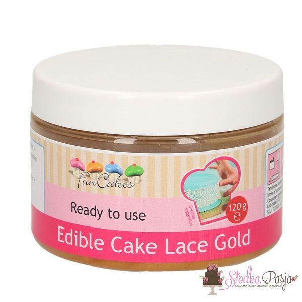 Masa do koronek Fun Cakes złota