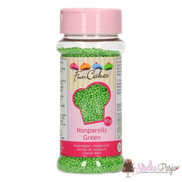 Posypka Fun Cakes zielone kuleczki