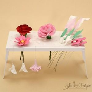 Stolik do suszenia kwiatów i liści z masy cukrowej Modecor
