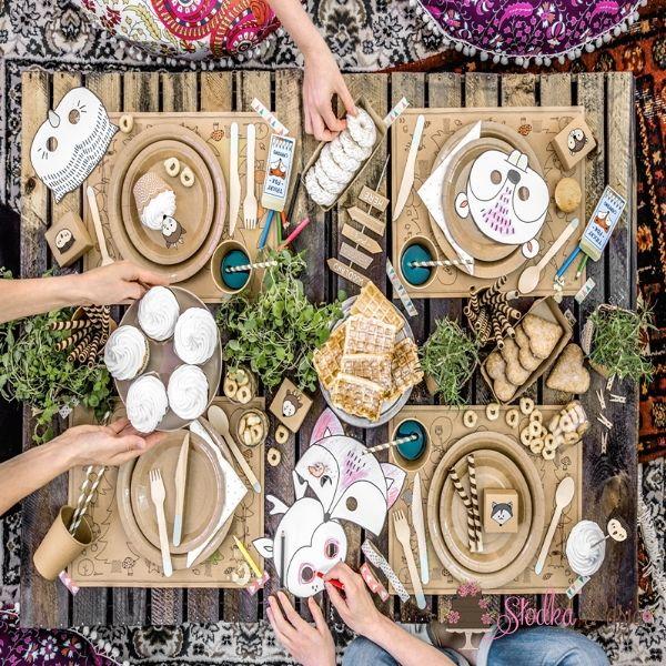 Klamerki drewniane - naturalne drewno