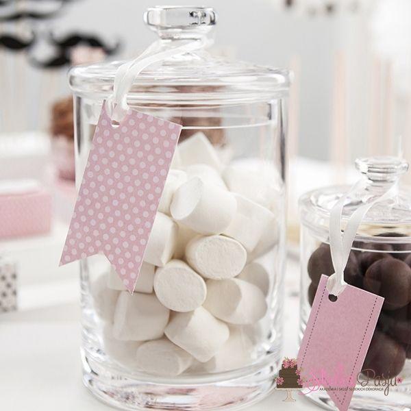 Zawieszki Sweets różowe