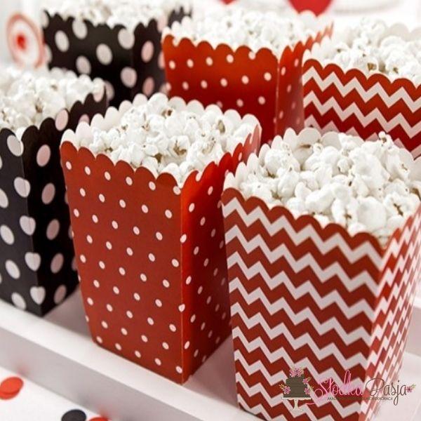Pudełka na popcorn  Biedronka 3 szt.