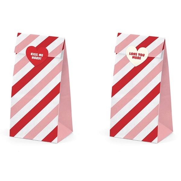 Torebki na słodycze Sweet Love 6 szt.
