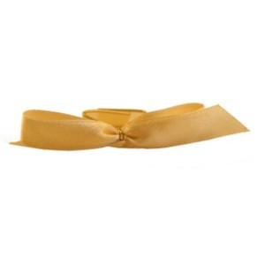 Klips do woreczków złota kokarda