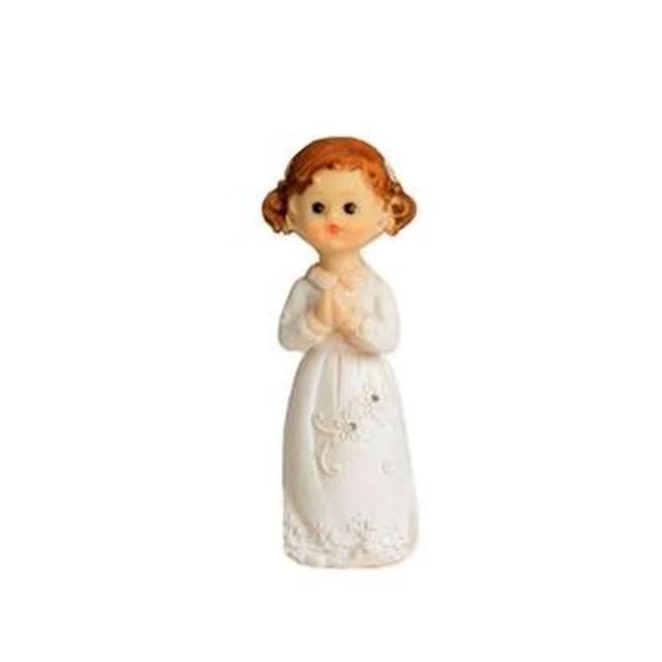 Figurka na tort - Komunia Stojąca dziewczynka