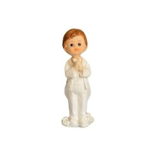 Figurka na tort - Komunia Stojący chłopczyk