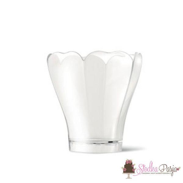 Pucharek plastikowy lilia 100 ml - 40 szt.