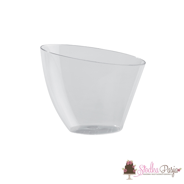 Pucharek plastikowy okrągły 140 ml - 18 szt.