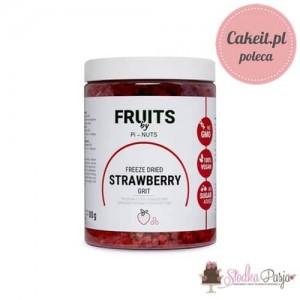 Owoce liofilizowane Pi-Nuts - Truskawka plastry 80 g