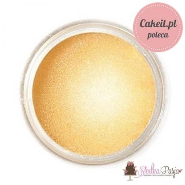 Barwnik spożywczy w proszku Fractal złoty blask  - GOLDEN SHINE - 3,5 g
