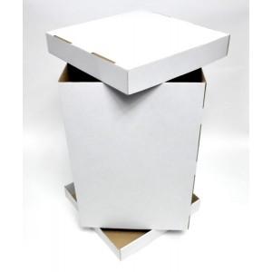 Pudełko na tort PIĘTROWY - 31x31x45