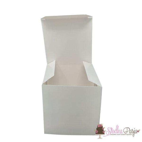 Pudełko na 1 muffinkę białe