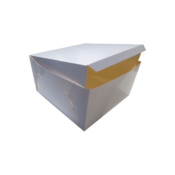 Pudełko na tort 28x28x12 BIAŁE