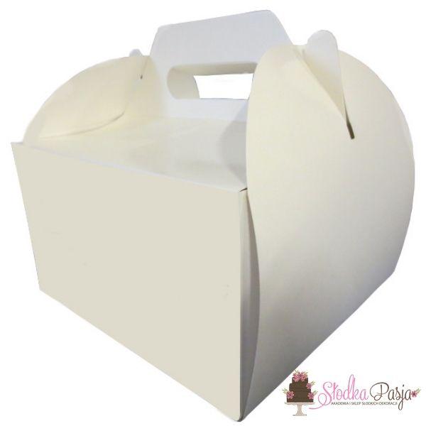 Pudełko na tort z uchwytem 30X30X12 cm