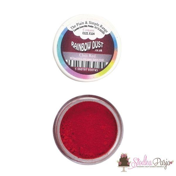 Barwnik spożywczy w proszku Rainbow Dust CHILLI RED- CZERWONY