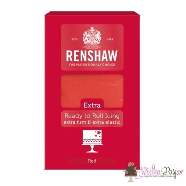 Masa cukrowa Renshaw extra czerwona 1 kg