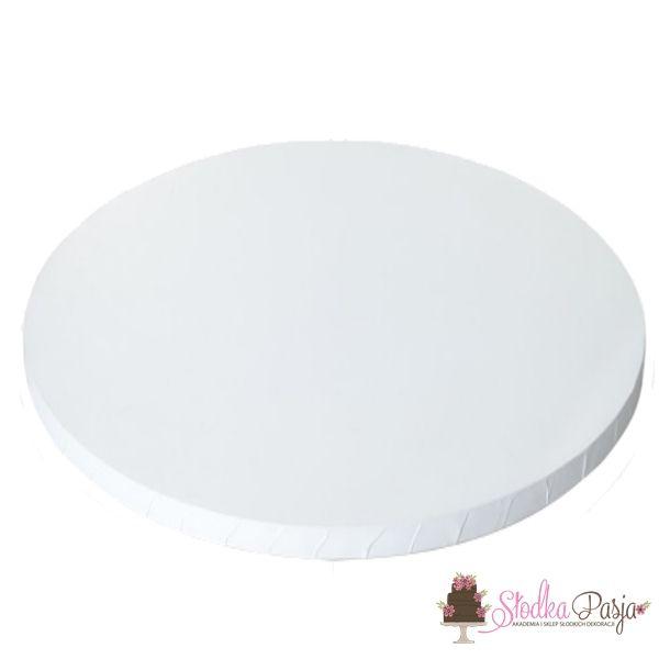 Podkład pod tort okrągły 35 cm biały
