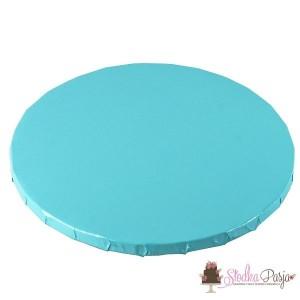 Podkład pod tort 25 cm - jasnoniebieski