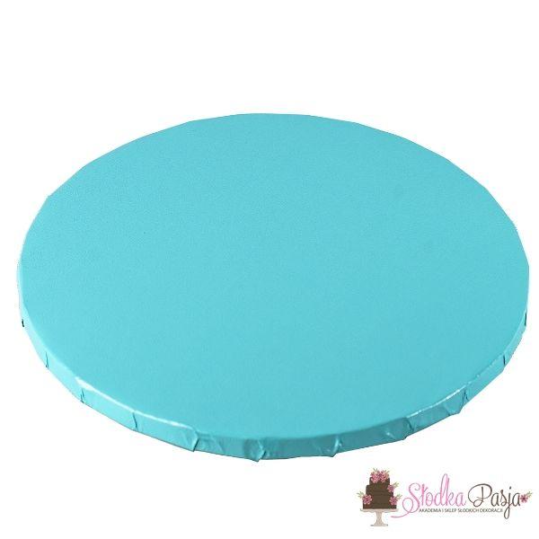 Podkład pod tort 25 cm jasnoniebieski