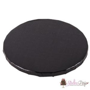 Podkład pod tort 30 cm - czarny