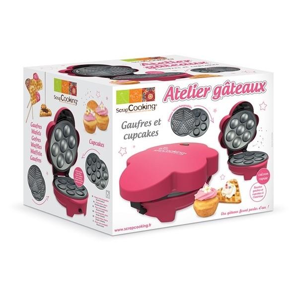 Urządzenie do pieczenia muffinek i gofrów SCRAPCOOKING