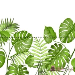 Zawieszki do woreczków - liście